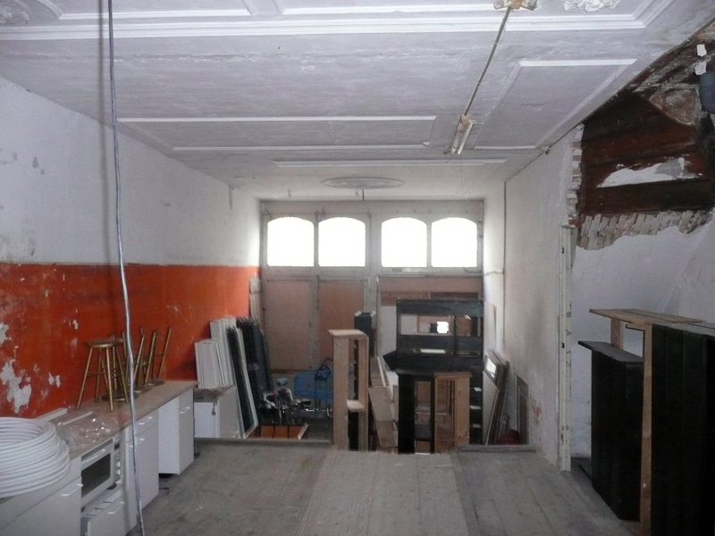 nr 35 ground floor, soon to be common space, eventroom, party room, workshopspace