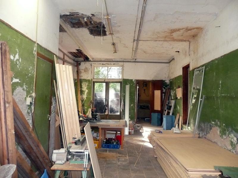 37 Ground Floor work- storage space
