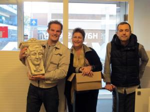 de kop - Erik, Lucia en Marc