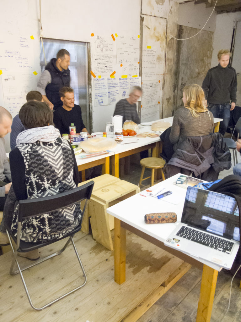 Workshop Redesigning Business at Stad in de Maak, November 2014